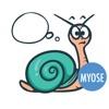 Silly Snail - MYOSE - Make Your Own Sticker Emoji