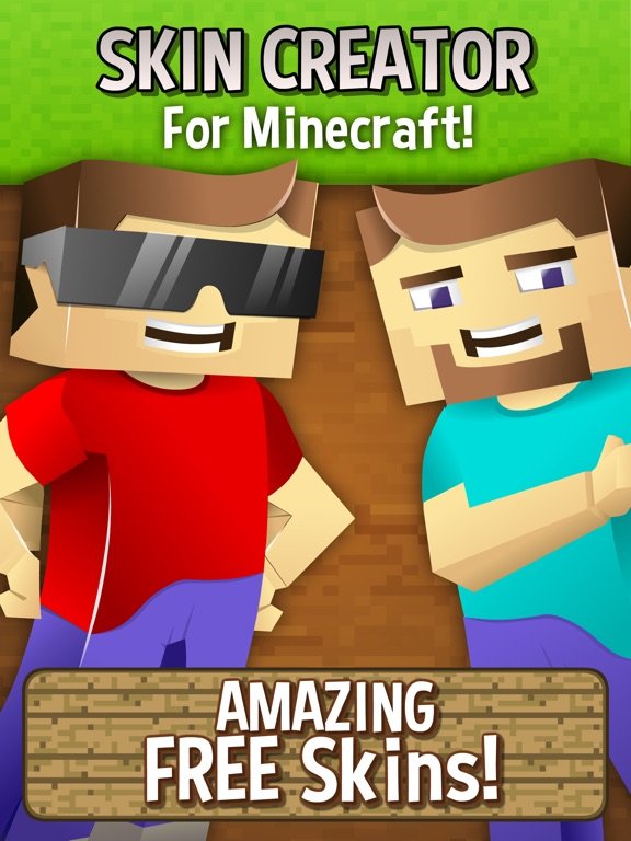 Skin Creator For Minecraft Free Minecraft Skins By DV Kidz - Skin para minecraft pe vip