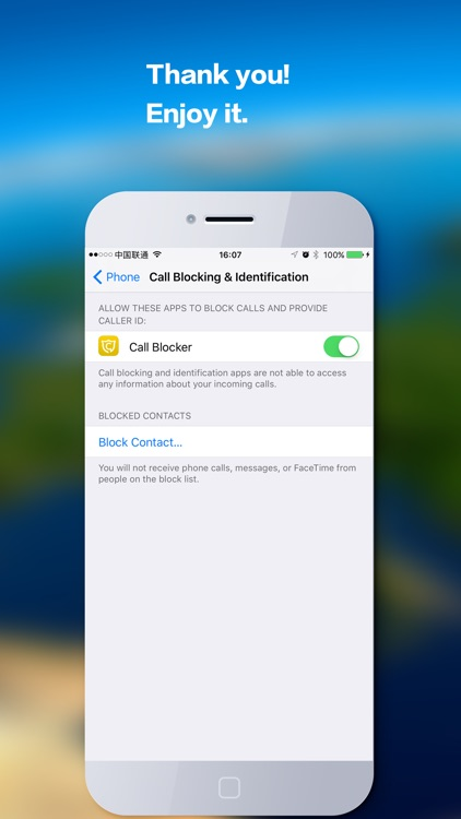 Call Blocker Cloud - Block unwelcome spam calls screenshot-4
