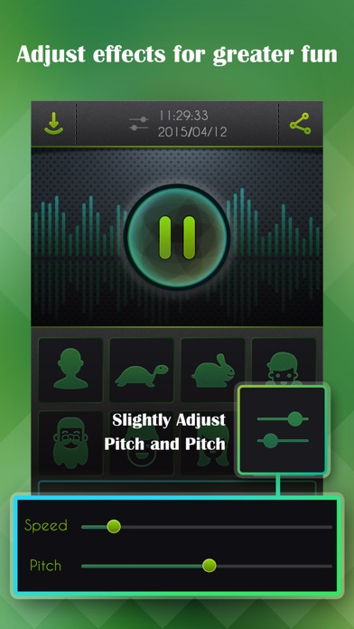 Voice Changer, Sound Recorder Screenshot