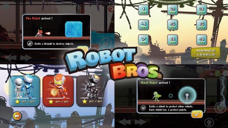 Robot Bros Free screenshot-4