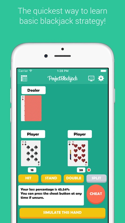 Perfect Blackjack - Blackjack Strategy Trainer