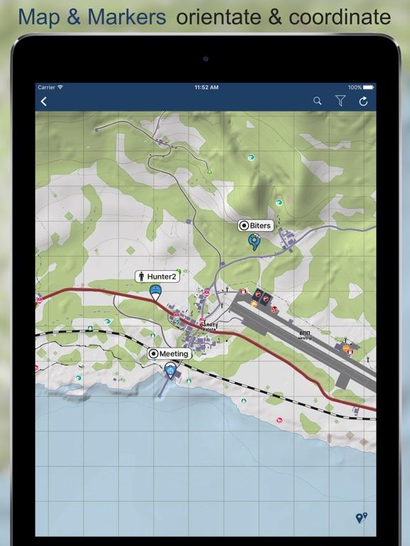 iZurvive - DayZ Карта на iPad