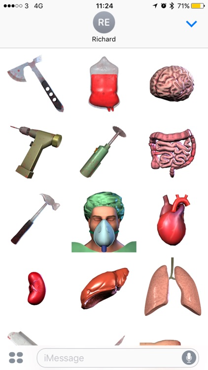 Surgeon Simulator Stickers