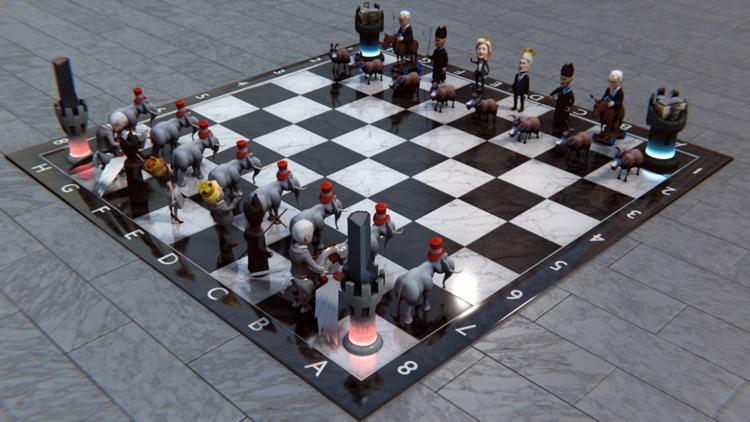 Political Chess 3D screenshot-0
