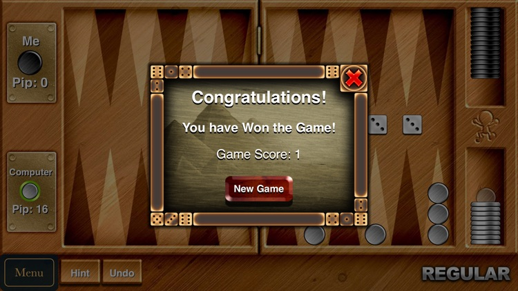 Backgammon - Challenging Board & Dice Game screenshot-4