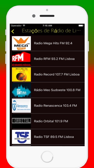 Radios Portuguese FM - Live Radio Stations Online screenshot two