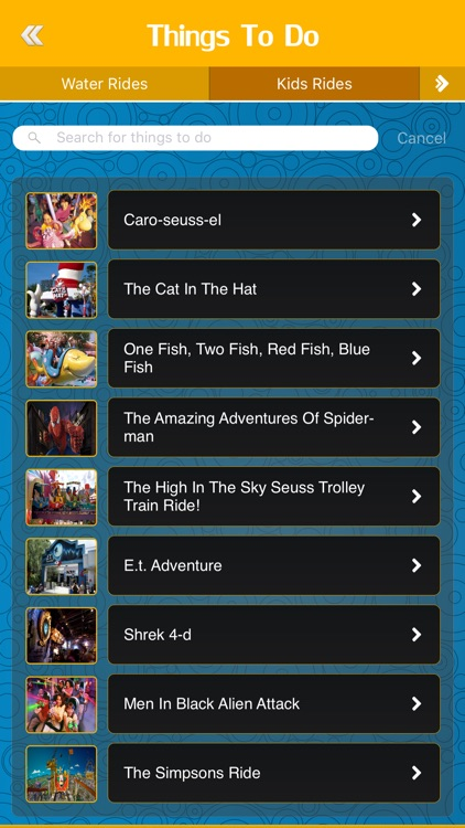 Great App for Universal Orlando Resort