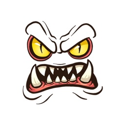 Monster Face - Stickers for iMessage