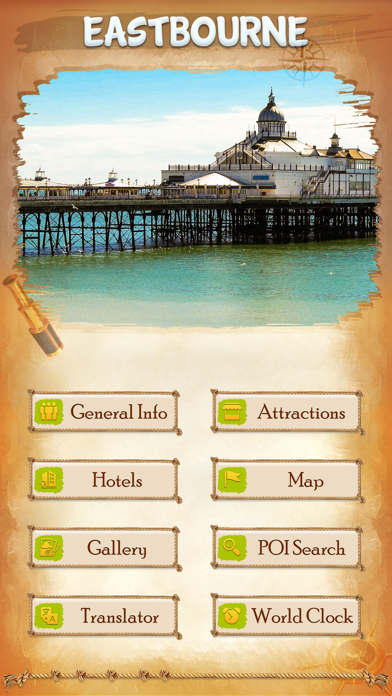 Eastbourne Tourist Guide screenshot two