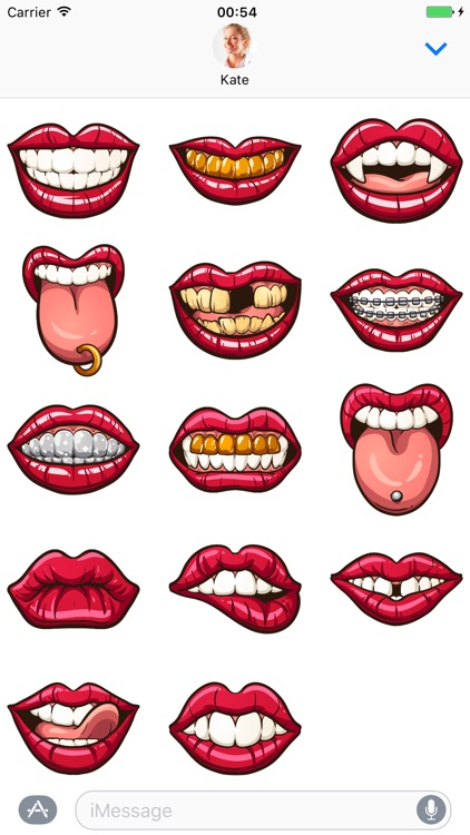 Lips - Stickers for iMessage