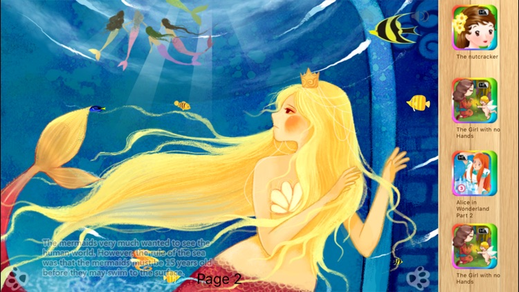 The Little Mermaid - Interactive Book iBigToy