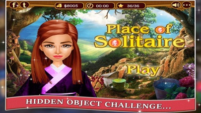 Place of Solitaire - Hidden Objects game for kids and adults screenshot one