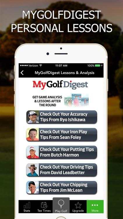 Golf GPS by GolfLogix Scorecard + Rangefinder screenshot-4
