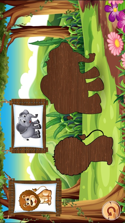 Animal Puzzles Games: Kids & Toddlers free puzzle screenshot-3