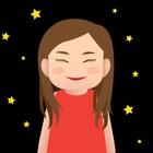 Hana the moody girl icon