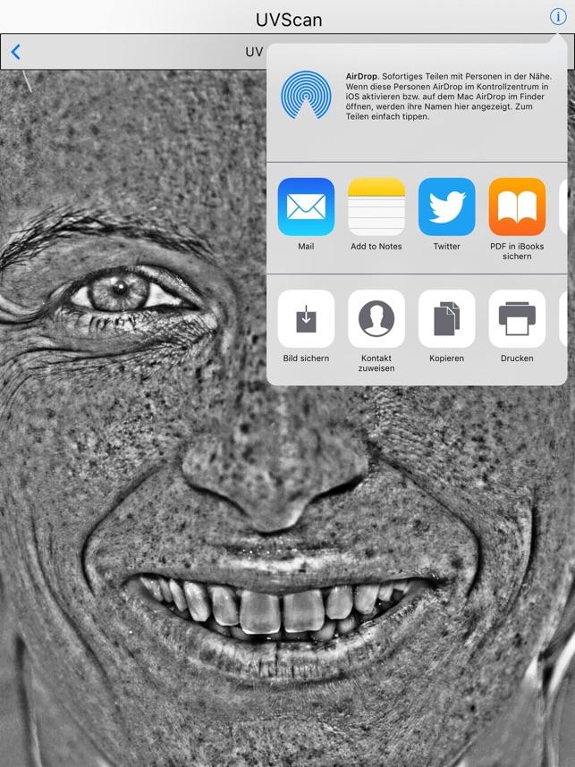 UVScan Screenshot