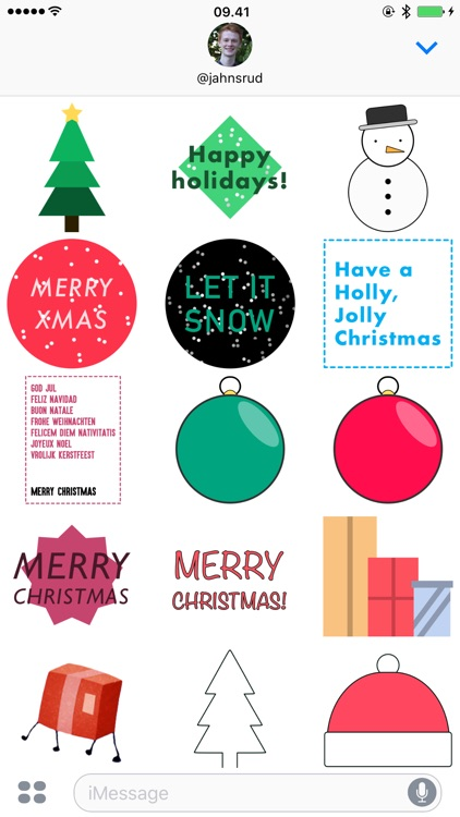 Christmas Stickers - Presents