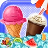 Frozen Dessert Food Stand - Crazy cooking & scramble baking game for kids