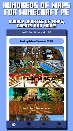 Maps for Minecraft PE - Pocket Edition on the App Store Disneyland Minecraft Map on