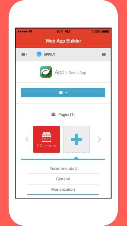 Web App Builder.