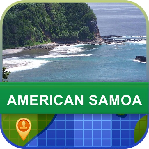 Offline American Samoa Map - World Offline Maps