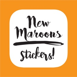 New Maroons Stickers