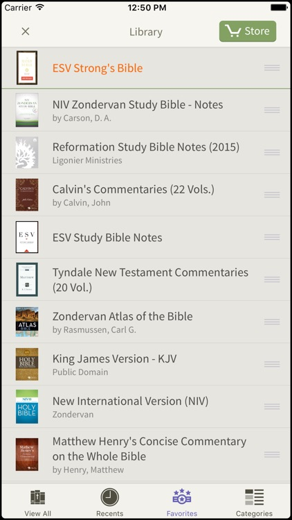 ESV Strong's Bible by Olive Tree screenshot-4