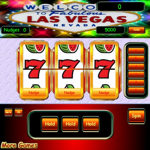 3D English Slots / Fruit Machine Game FREE Version