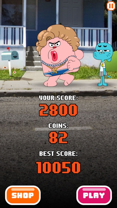 Sky Streaker - Gumball Climbing Arcade Game screenshot three