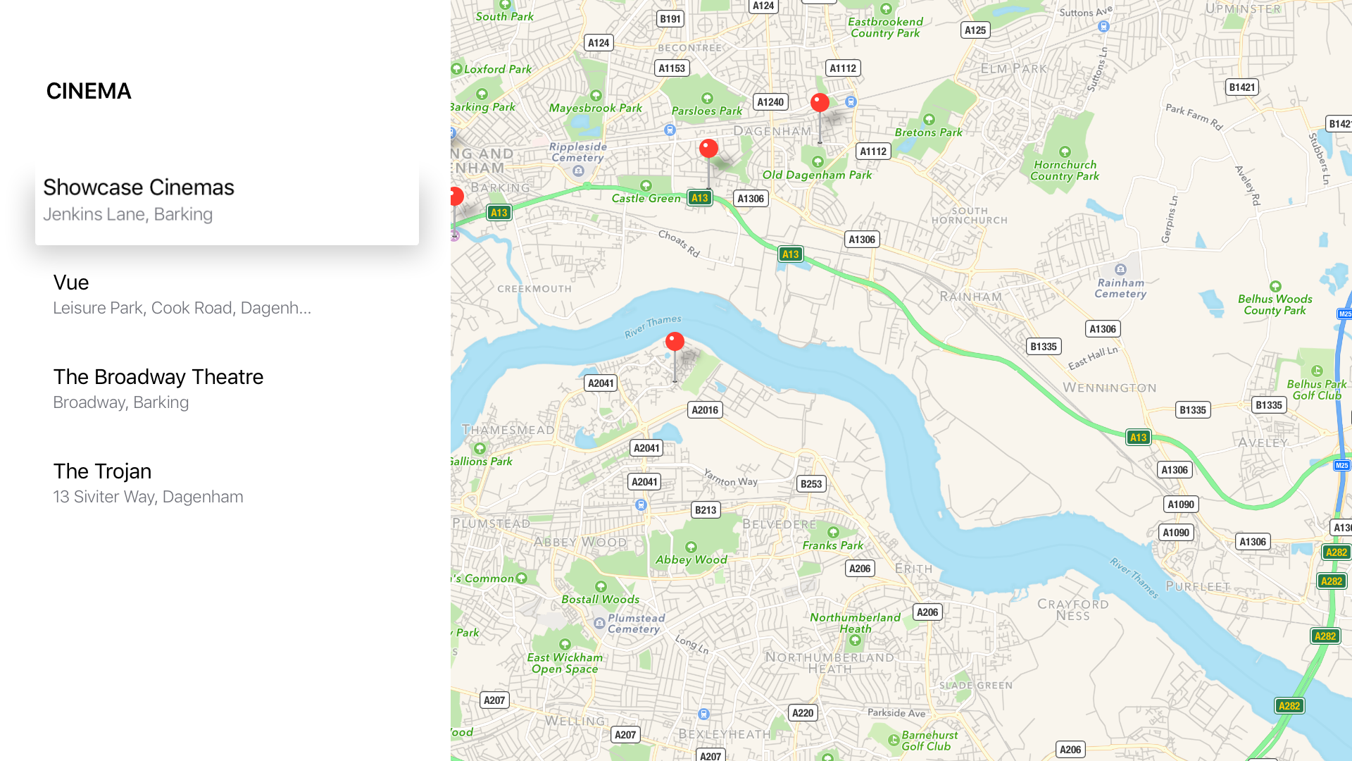 Locate with Google maps screenshot 3