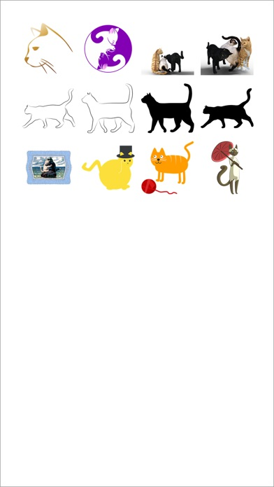 Cat Two Sticker Pack!のスクリーンショット1