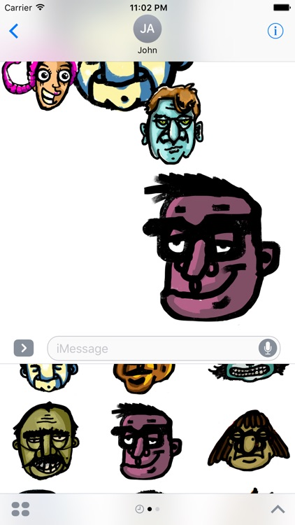 Garabato Stickers screenshot-1