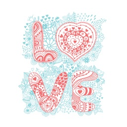 LOVe & HEARTs Stickers for iMessage