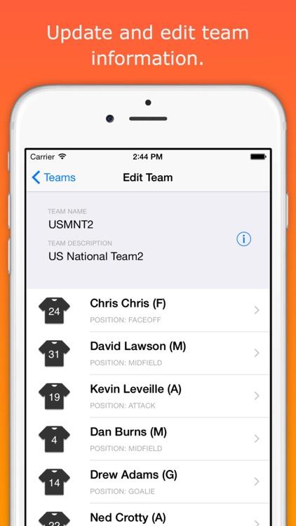 LAXStats App screenshot-4