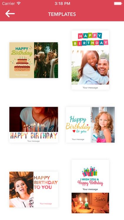 Celebration Greeting Cards screenshot-3