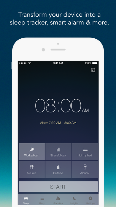 Sleep Better: Sleep Cycle App Screenshot