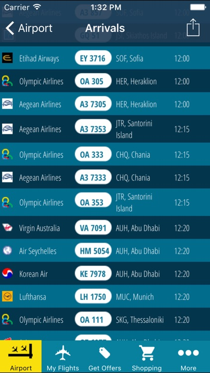 Athens Airport Pro (ATH) + Flight Tracker screenshot-3