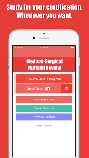 Cmsrn Qa Medical Surgical Rn Test Prep On The App Store