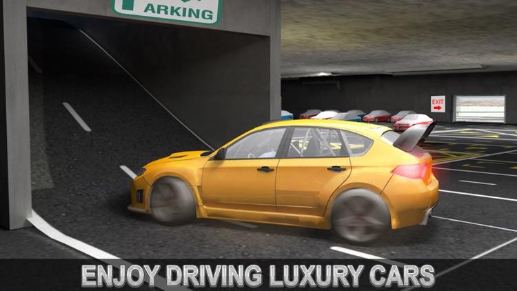 Multi-Level Snow Car Parking Mania 3D Simulator screenshot-3