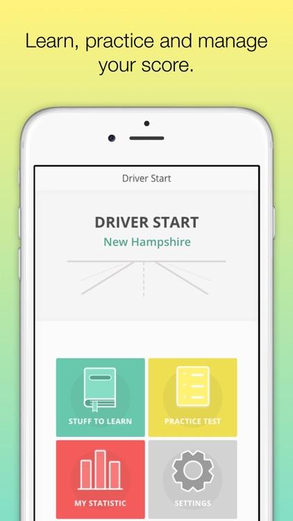New Hampshire DMV  Permit test