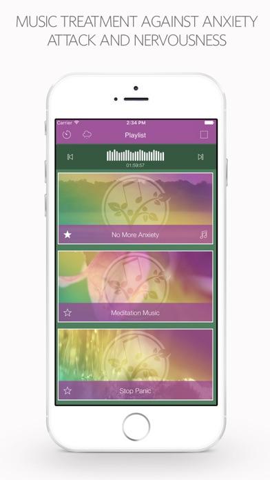 神経過敏の治療のための音楽ヒーリングスクリーンショット