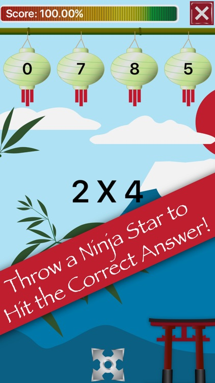 Math Facts Ninja - Improve Math Skills with Games screenshot-3