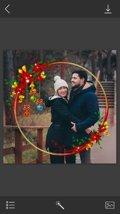 Christmas Photo Frame - Instant Photo Maker