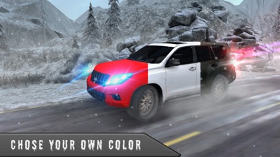 雪驾驶模拟器 3D-4 x 4 普拉多司机游戏 App 截图