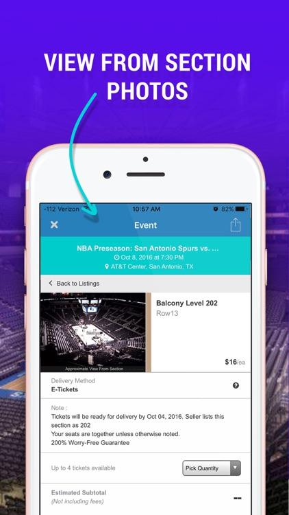 Event Tickets Center – Concerts, Broadway & Sports screenshot-3