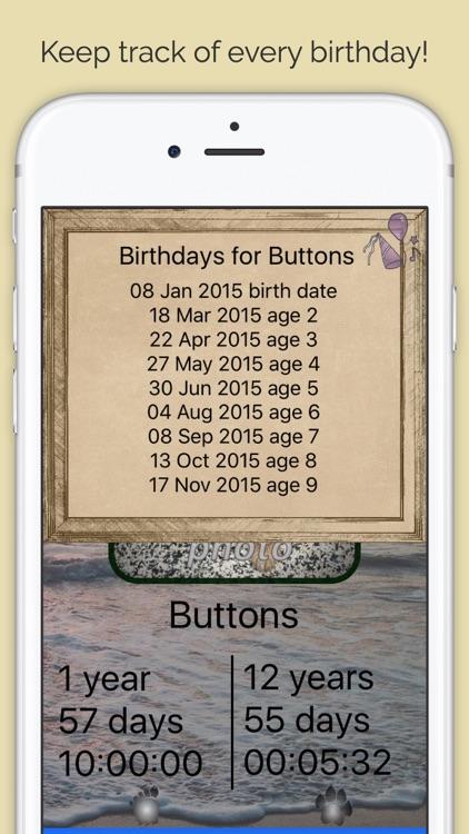 Pet Age & Birthday Tracker for 200+ Breeds screenshot-3