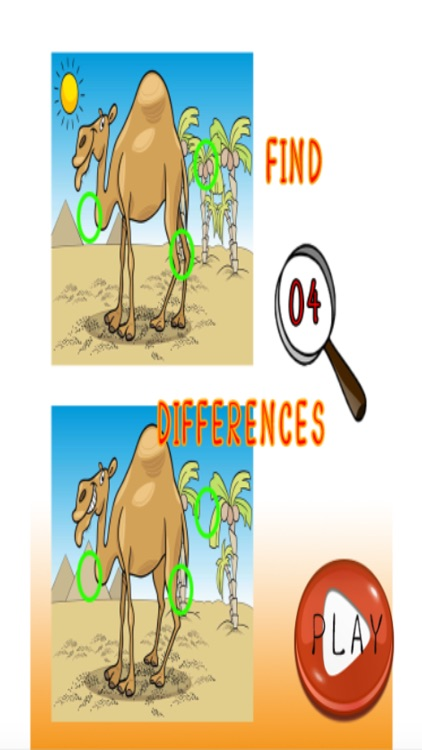 Spot the Difference with Friends! 2 Pics