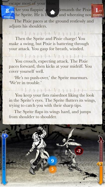 Sorcery! 2 screenshot-4