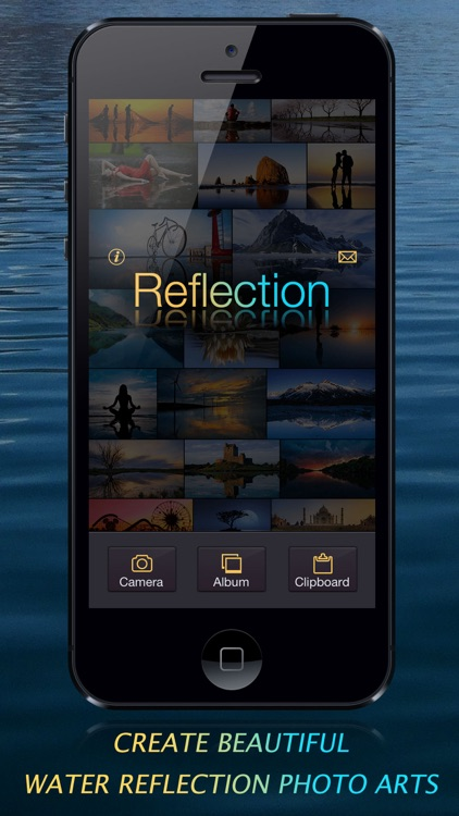 Reflection - Create Water Reflection Photo Arts
